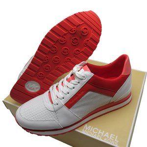 Michael Kors BILLIE Tri-Color Leather Sneaker
